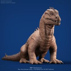 Fanart   Rhedosaurus