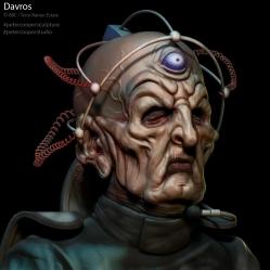 Fanart   Davros (Terry Molloy)