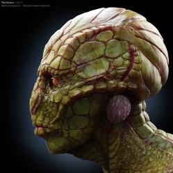 Creature Concept   Repilian