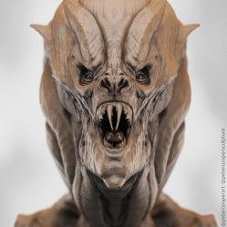 Creature Concept   Alien Space Vampire