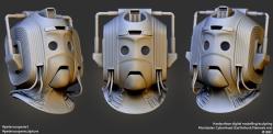 Fanart   Cybermen Helmet